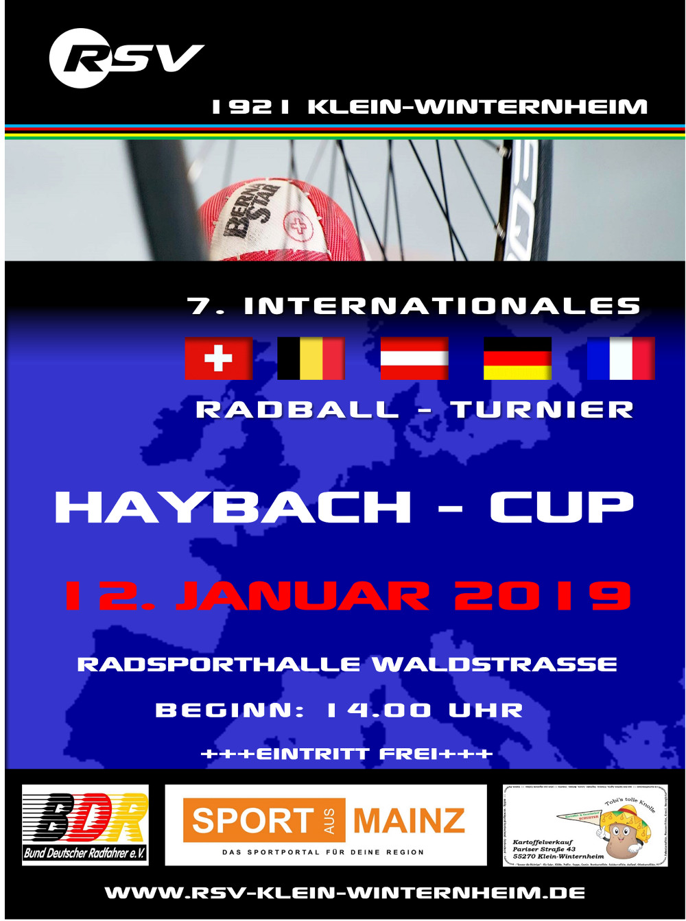 Internationales Radballturnier 2019